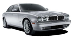 Chauffeur driven cars in London area, including the long wheel based version of the new Jaguar XJ