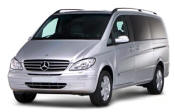 Chauffeur driven Mercedes Viano people carrier - Up to 7 passengers in comfort, from Cars for Stars (South London) - Airport Transfer Services